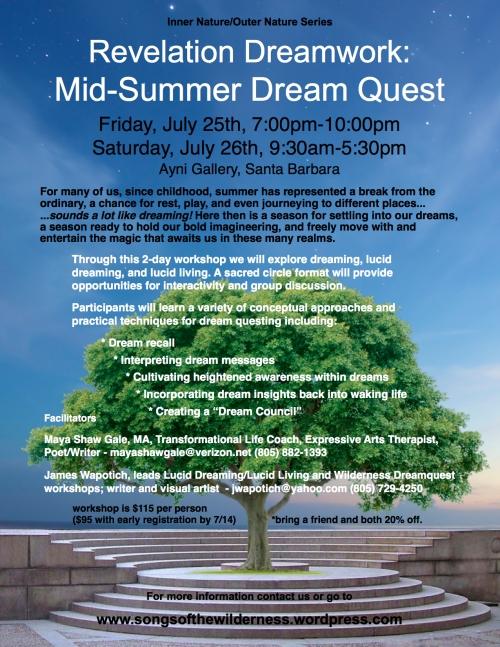 Lucid Dreaming Workshop Santa Barbara