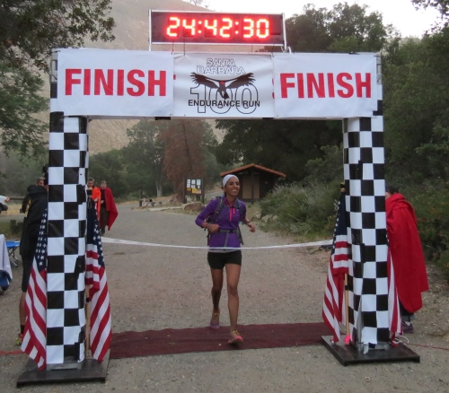 Santa Barbara ultra marathon trail run runners los padres national forest