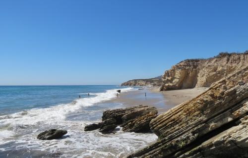 Cañada del Corral beach El Capitan Refugio walk Santa Barbara