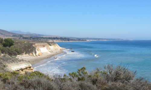 El Capitan Refugio beach walk Santa Barbara hike