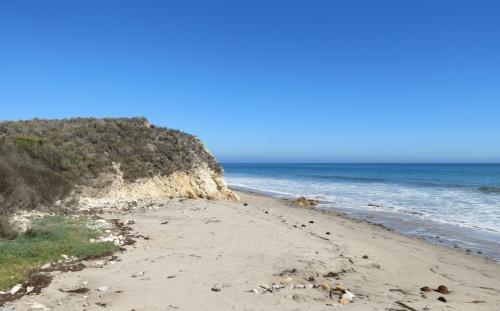 Cañada del Venadito Refugio El Capitan beach walk Santa Barbara hike