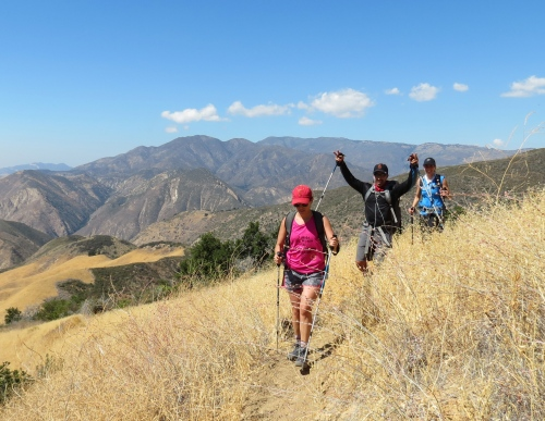 Xtreme Hike Los Padres National Forest hiking Santa Barbara