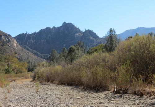 Castle Rock Manzana creek trail los padres national forest hiking backpacking santa barbara