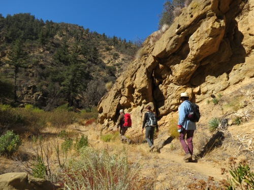 Rancho Nuevo Trail Los Padres National Forest Santa Barbara hike trail Dick Smith Wilderness