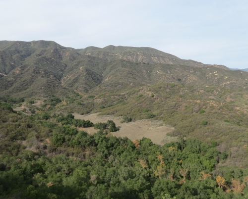 El Nido Meadow Ventura River Preserve hiking trail Ojai