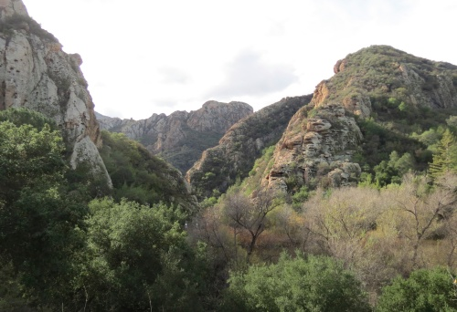 Planet of the Apes Goat Buttes Santa Monica Mountains Malibu Creek State Park hike trail movie ranch 20th Century Fox