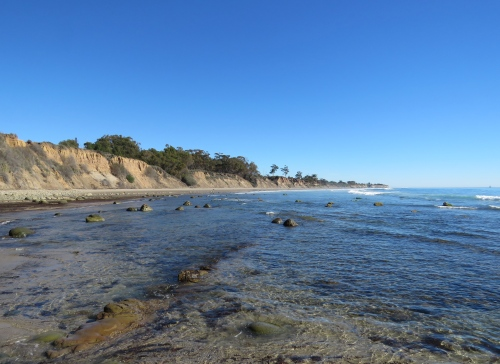 Gato Canyon El Capitan beach walk goleta coast