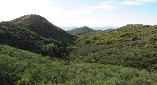 Campbell Trail gaviota Los Padres national Forest hiking
