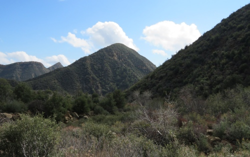 Potrero John Canyon Falls hike trail Los Padres national Forest Sespe Wilderness