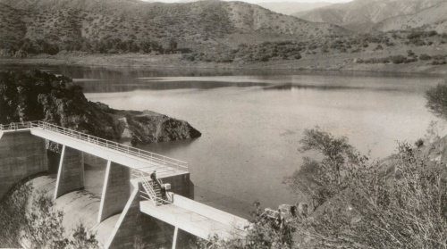 mono debris dam historic archive los padres national forest campground