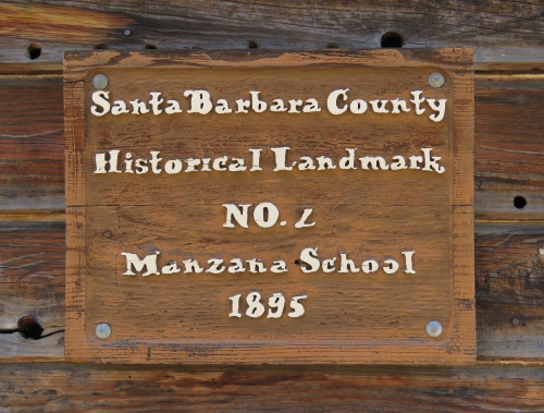 Manzana Schoolhouse los padres national forest homestead Sisquoc River