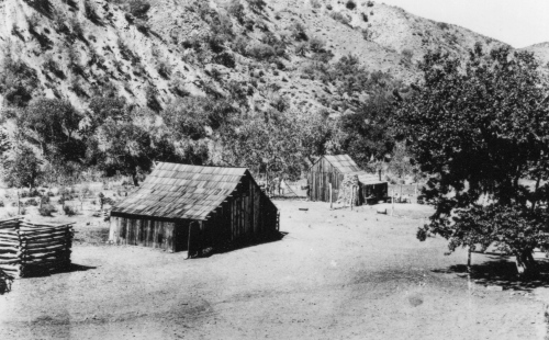 historic photo Edward Montgomery homestead sycamore camp los padres national forest san rafael wilderness sisquoc river trail hiking backpacking