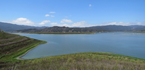 Main Island Lake Shore Trail Casitas Ojai hike