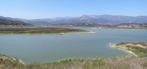 Lake Casitas Lake Shore Trail hiking Ojai