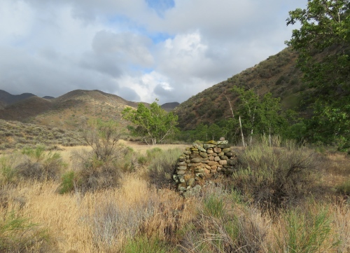 Edward Montgomery homestead sycamore camp los padres national forest san rafael wilderness sisquoc river trail hiking backpacking