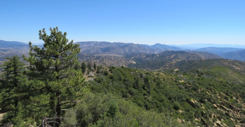 Thorn Point Trail lookout hike sespe wilderness los padres national forest