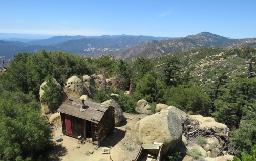 Thorn Point Lookout hike trail Sespe Wilderness Los Padres National Forest