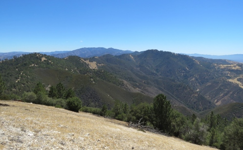 Zaca Peak lookout hike trail Los Padres national forest