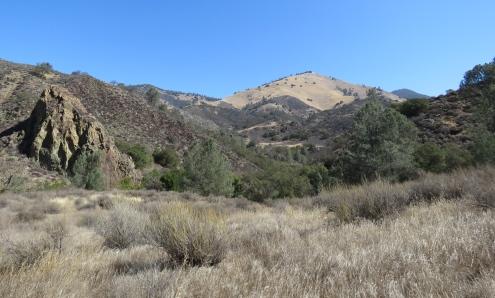 Grass Mountain Birabent Canyon Midland School hike trail