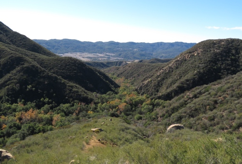 Sisar Canyon Trail creek hiking backpacking ojai Los padres national Forest