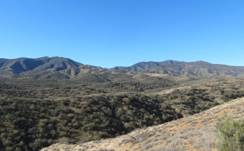 Aliso Park Campground Sierra Madre Mountains Cuyama hike trail los padres national forest