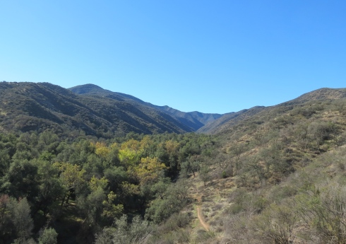 McPherson Peak Trail hike Aliso Canyon Park Campground Sierra Madre Mountains Los Padres National Forest Cuyama