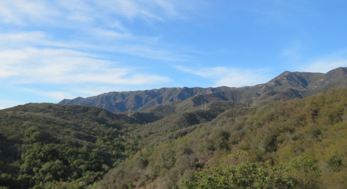 Franklin Trail Sutton Canyon hiking backpacking Los Padres National Forest Carpinteria
