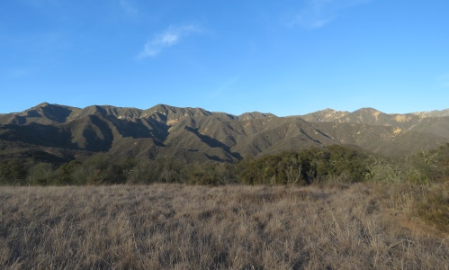 Franklin Trail Carpinteria hiking backpacking Los Padres National Forest