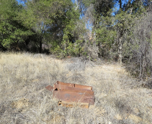 Dinsmore Camp Thomas hike trail Buckhorn Canyon ice can stove Los Padres National Forest