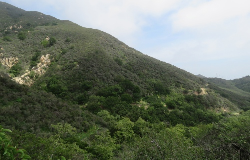 Hot Springs Canyon Montecito hike trail hotel Wilbur Curtiss Los Padres National Forest