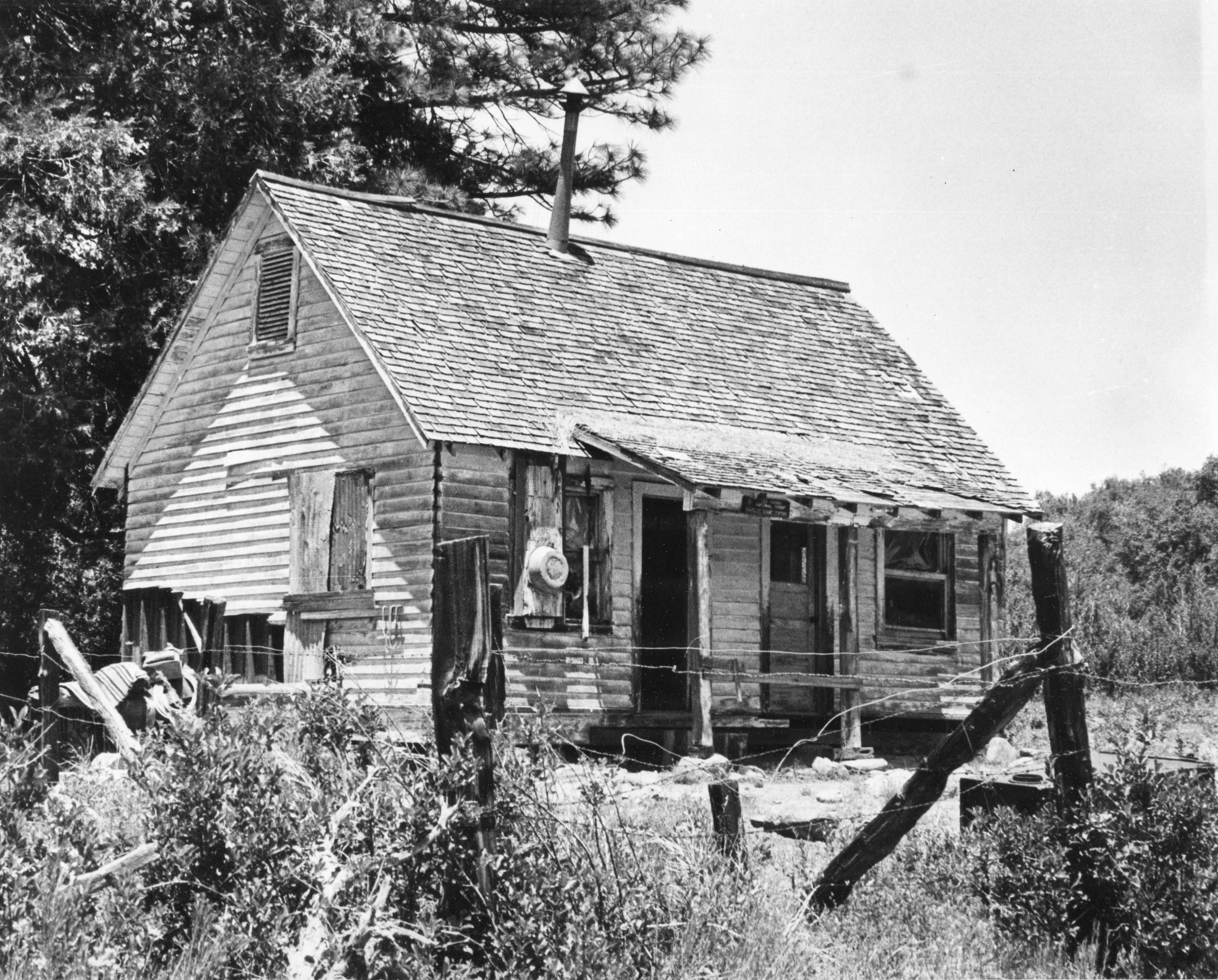 Historic Archive Photo Madulce Cabin Guard Station Los Padres National  Forest Dick Smith Wilderness Santa Barbara