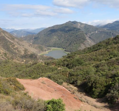 Gibraltar Reservoir los prietos quicksilver mercury mine Santa Ynez River hike trail Jose Moraga Los Padres national forest