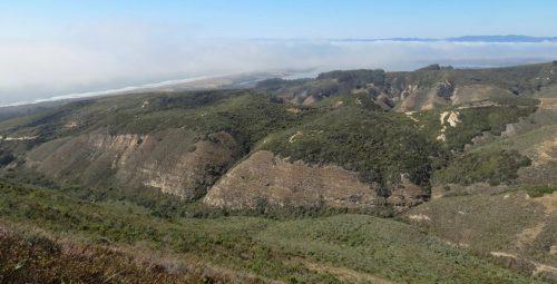 Hazard peak trail hike Montaña de Oro