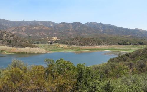 Jameson lake reservoir hike trail juncal santa ynez river los padres national forest