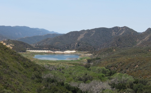 Jameson lake reservoir juncal road upper santa ynez river trail hike los padres national forest