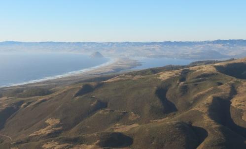 Morro Bay Valencia Peak Montaña de oro