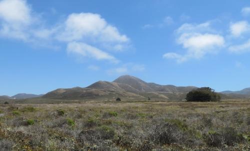 Valencia peak bluff trail hike Montaña de oro