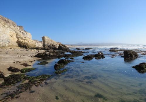 Surf Beach tide pools Wall hike lompoc Ocean Park