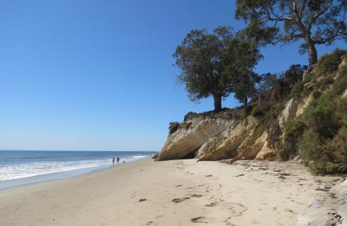shoreline park beach walk hike Santa Barbara thousand steps leadbetter mesa