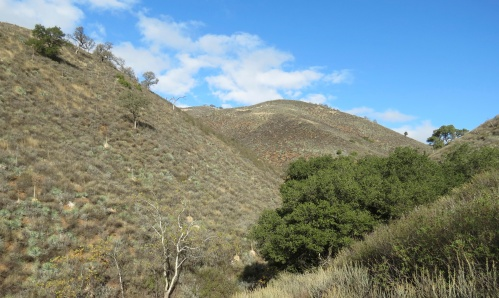 Adobe Trail Los Padres National Forest Condor Trail hiking backpacking
