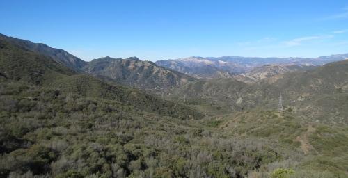 North Romero Trail Blue Canyon hike backpacking Santa Barbara los padres national forest