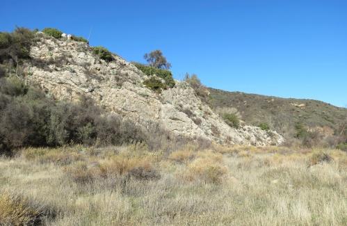 sierra blanca limestone Blue Canyon Trail hike Santa Ynez River Los Padres National Forest