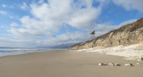 Refugio State Beach Tajiguas Gaviota Coast hike Santa Barbara Goleta