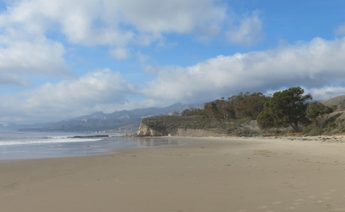 Tajiguas Beach Gaviota Coast Refugio walk hike Santa Barbara Goleta