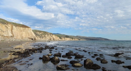 Gaviota Coast beach walk hike low tide Refugio Arroyo Hondo