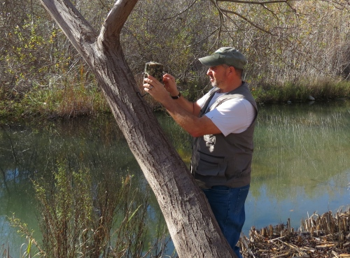 David Lee wildlife camera tracking trapping Big Rock Preserve Ventura River