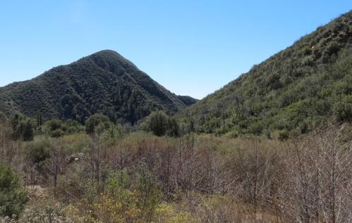 Potrero John Canyon Trail Falls Ojai hike