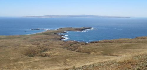 Fraser Point Western Santa Cruz Island Natural Conservancy Island Packers hike Channel Islands