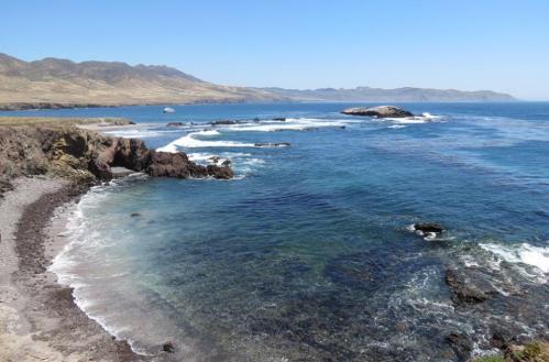 Fraser Point Western Santa Cruz Island Natural Conservancy Island Packers hike Channel Islands