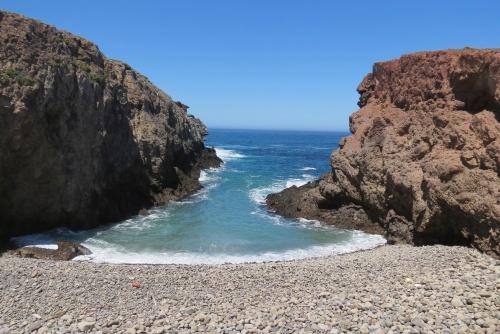 Fraser Point Western Santa Cruz Island Nature Conservancy